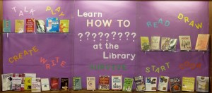 How To Books at the Library