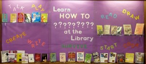 Learn HOW TO ?????????? at the Library