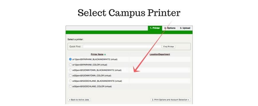 select-printer