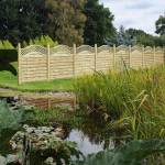 Garden Fencing in West Kirby