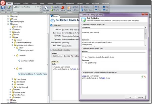 sitecore_contextdevice_rule_editsetcontextdevicetomobileformobiledevices