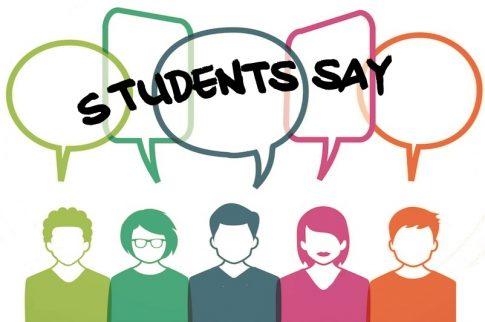 students say