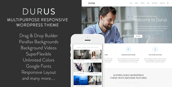 WordPress Child Theme for Durus