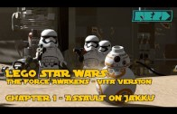 LEGO Star Wars the Force Awakens – VITA – Chapter 1 – Assault on Jakku