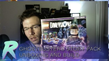 Ghostbuster Lego Dimensions Unboxing and Build