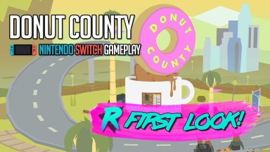Donut County - First Look - Nintendo Switch