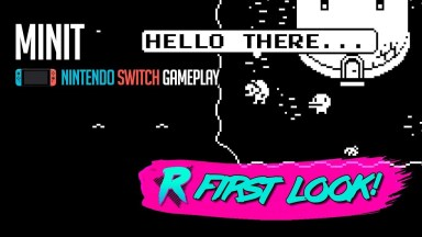 Minit - First Look - Nintendo Switch
