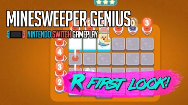 Minesweeper Genius - First Look - Nintendo Switch