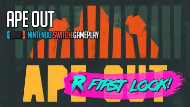 Ape Out - First Look - Nintendo Switch