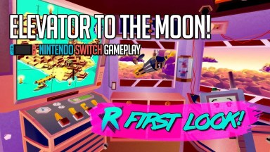 Elevator to the Moon! Turbo Champion's Edition - First Look - Nintendo Switch