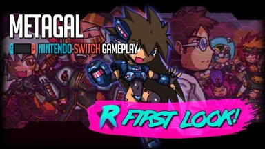 METAGAL - First Look - Nintendo Switch