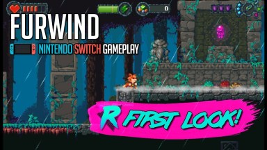 Furwind - First Look - Nintendo Switch Gameplay
