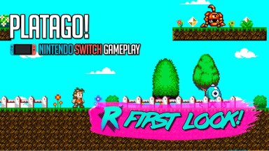 PlataGO! - First Look - Nintendo Switch Gameplay