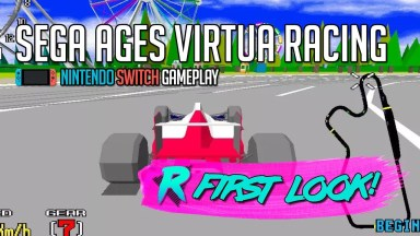 SEGA AGES Virtua Racing - First Look - Nintendo Switch Gameplay