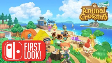 Animal Crossing: New Horizons - First Look - Nintendo Switch Gameplay
