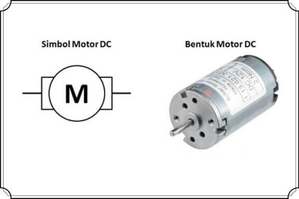 Cara kerja motor DC