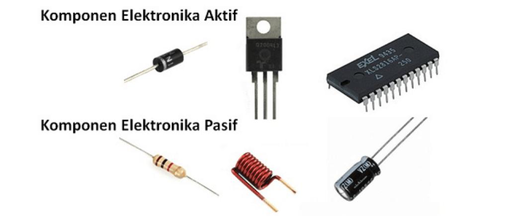 komponen elektronika aktif