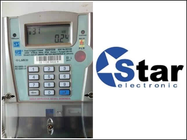 kode reset meteran listrik periksa