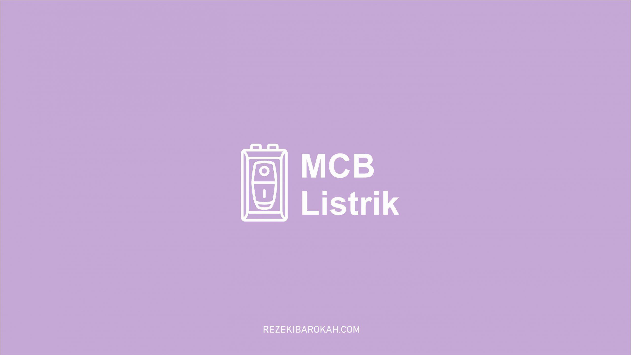 fungsi MCB