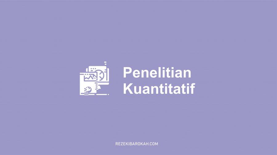 jurnal penelitian kuantitatif