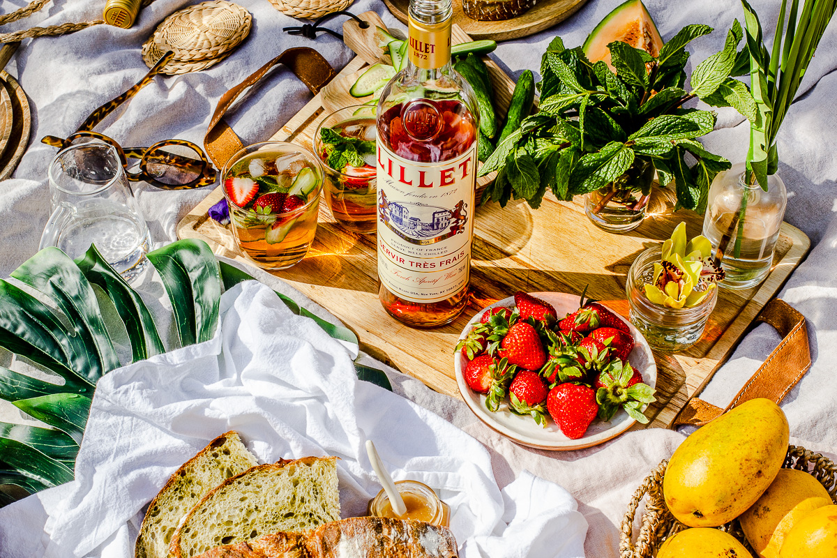Outdoor Merienda Sesh with Lillet
