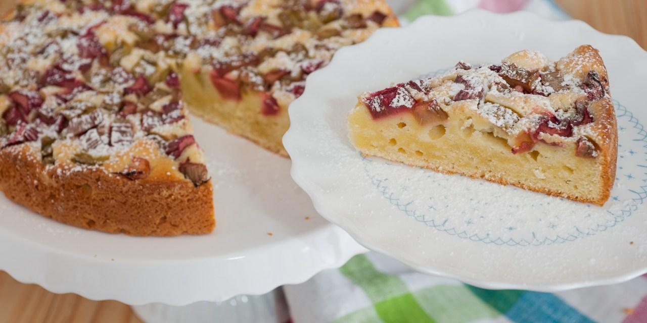 Rhabarber-Joghurt-Kuchen