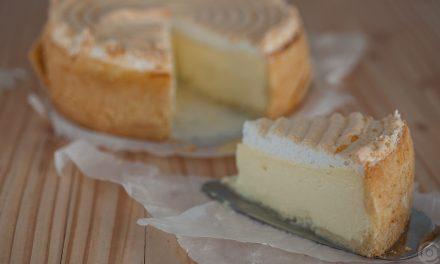 Käse-Baiser-Torte
