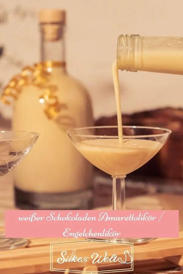 Rezept für Cremelikör mit Amaretto