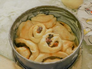 Bratapfelkuchen herstellen
