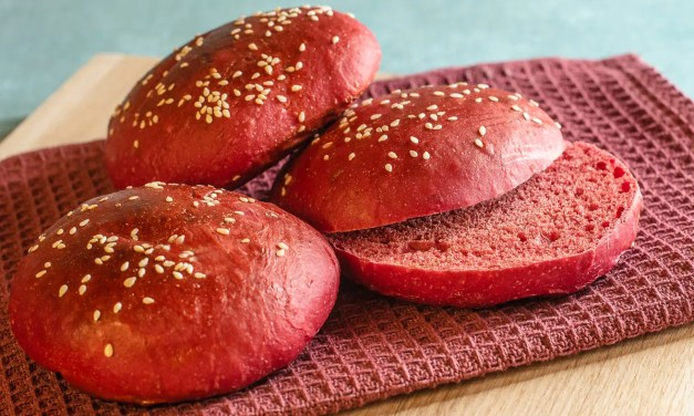 rote Burgerbuns