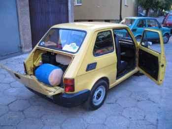 Bagażnik o pojemności 200 litrów w miejscu dotychczasowej komory silnika