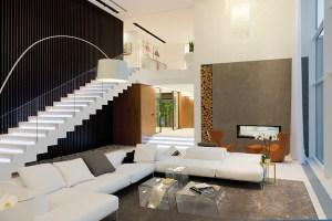 Interiérová geometrie s jasným uspořádáním