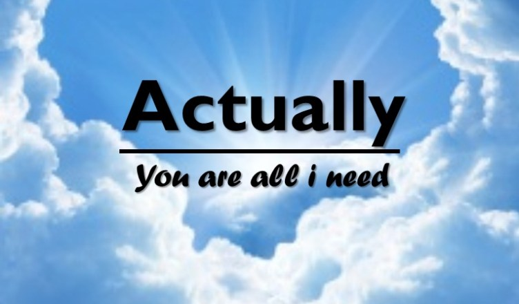 Actually, you are all i need - Rezky FirmansyahActually, you are all i need - Rezky Firmansyah