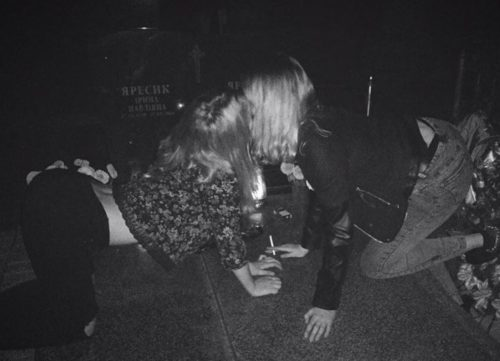 Танці на могилах (фото)