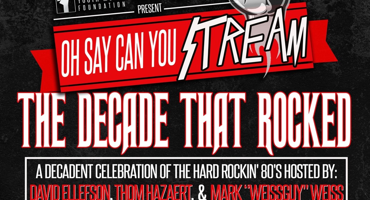 """MEGADETH'S DAVID ELLEFSON AND THE DAVID ELLEFSON YOUTH MUSIC FOUNDATION HOSTS """"THE DECADE THAT ROCKED"""