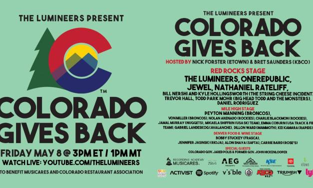 The Lumineers Livestream For Colorado Gives Back