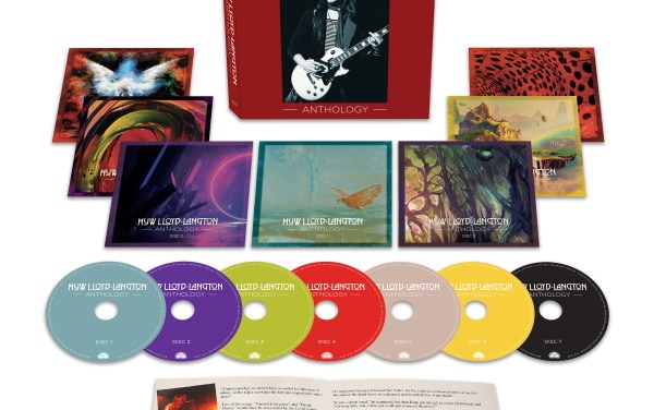 Massive 7CD Box Set Celebrates The Life & Talents Of Original HAWKWIND Guitarist, HUW LLOYD-LANGTON!