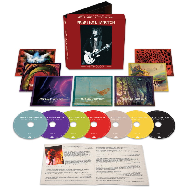 Massive 7CD Box Set Celebrates The Life & Talents Of Original HAWKWIND Guitarist, HUW LLOYD-LANGTON!