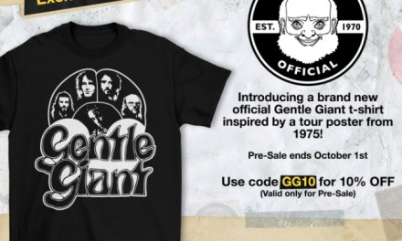 Prog Legends Gentle Giant Announce First Official T-Shirt Available For Pre-order