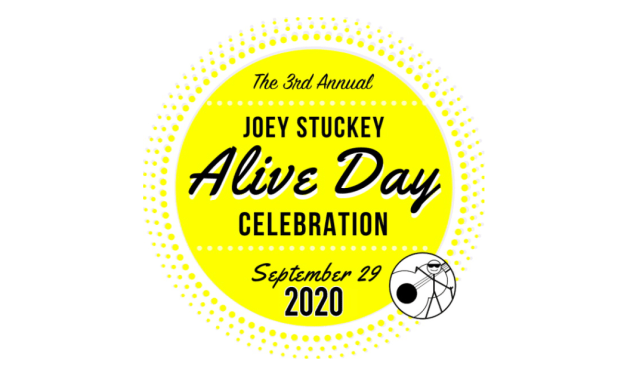 Celebrate The 3rd Annual Joey Stuckey Alive Day Music Festival Macon, GA – September 29, 2020