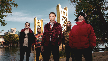 Dance Gavin Dance Announce 'Tree City Sessions Volume 2' PPV Streaming Event Broadcast December 19, Featuring Fan Voted Set List Performed On Sacramento Tower Bridge; Produced By DWP