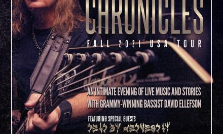 "MEGADETH Bassist DAVID ELLEFSON Announces His Solo  ""BASS CHRONICLES"" FALL 2021 STORYTELLER CONCERT SERIES"