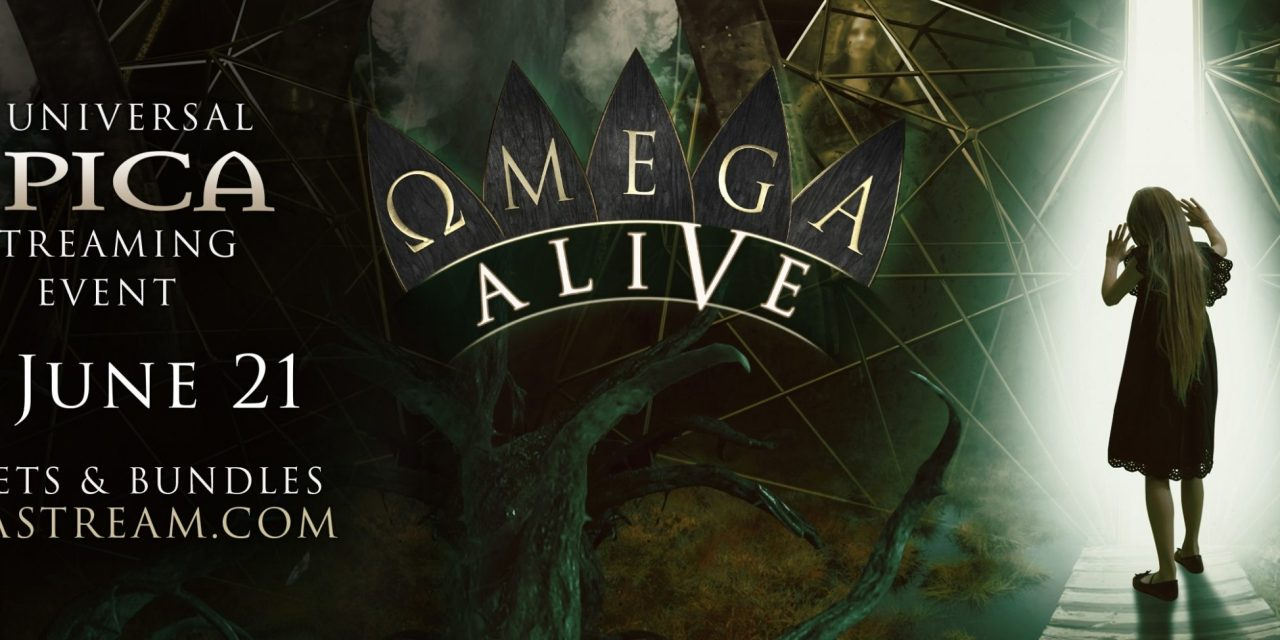 "Dutch Symphonic Masters EPICA Announce ""Ωmega Alive,"" Band's First-Ever Universal Streaming Event June 12; In Collaboration With Danny Wimmer Presents"