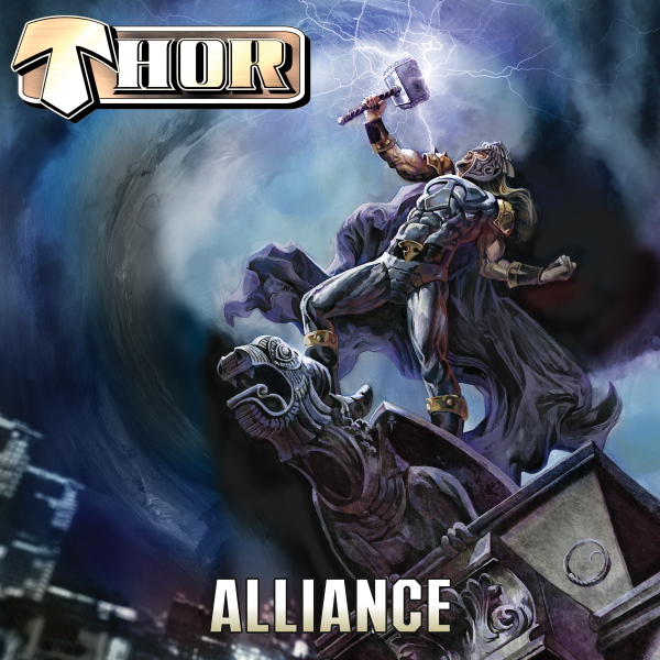 Metal Titan THOR Forges The Ultimate ALLIANCE With W.A.S.P.'s CHRIS HOLMES & ROSS THE BOSS In A New Video/Single From His Forthcoming Album!