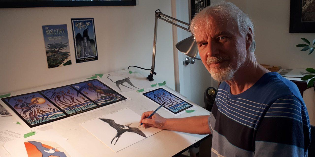 RoSFest Reveal 2022 Festival illustrator and Art