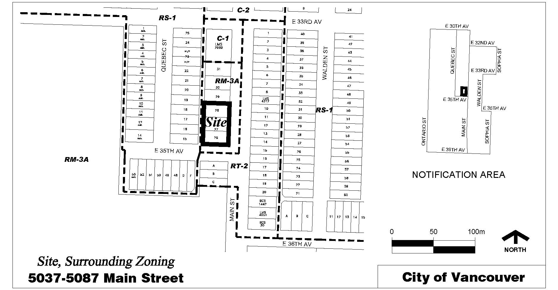 Rezoning Application, 5037-5087 Main Street