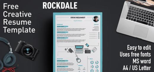 free modern resume word templates