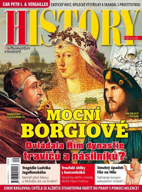 Aktuální číslo časopisu History Revue