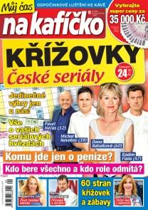 Křížovky České seriály – Můj čas na kafíčko 9/2018