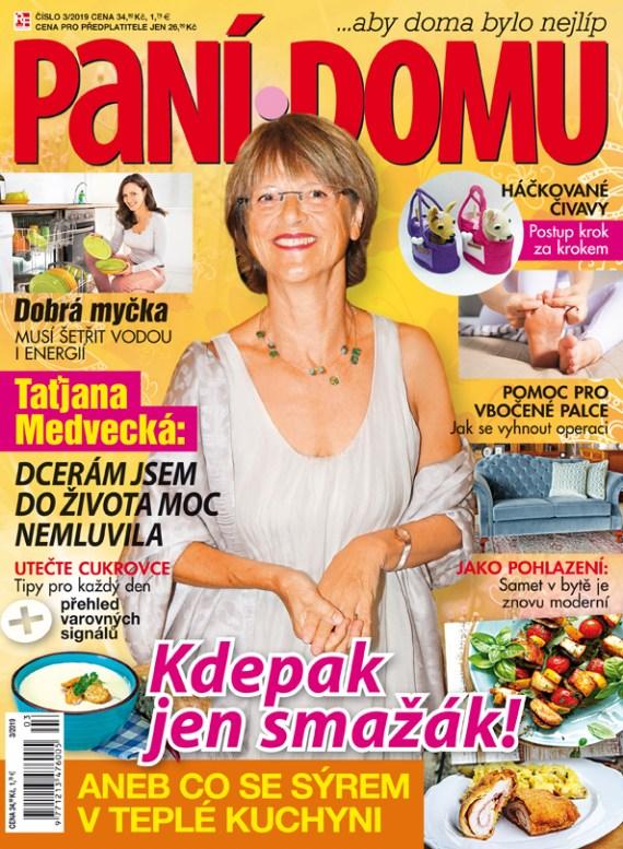 Aktuální číslo časopisu Paní domu